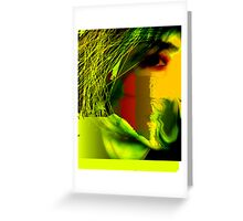 Distorted Perfection  Greeting Card