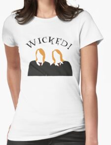 Wicked! Womens Fitted T-Shirt