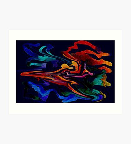 THE SPIRIT MOVES Art Print