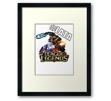 Trick2g Collection #LATA Framed Print