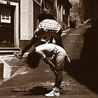 girls at play: leap frog by ragman