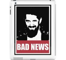 OBEY Collection - bad news barrett iPad Case/Skin