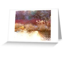 LAYERS OF EARTH Greeting Card