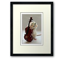 The Musician 2 Framed Print
