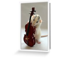 The Musician 2 Greeting Card