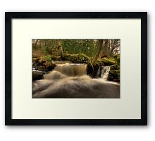Rivelin Falls Framed Print