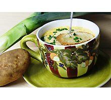 Grandma Sarahs Potato & Leek Soup Photographic Print