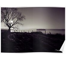 Lochindorb in Winter Poster