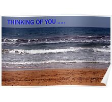 Thinking of you...card Poster