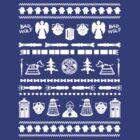 The Who Christmas Sweater Tee/Hoodie by MacRudd