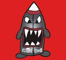 Sharky Missile One Piece - Short Sleeve