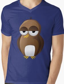 Brown Bird 2 Mens V-Neck T-Shirt