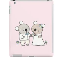 Koala Wedding iPad Case/Skin