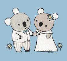 Koala Wedding One Piece - Short Sleeve