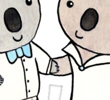 Koala Wedding Sticker