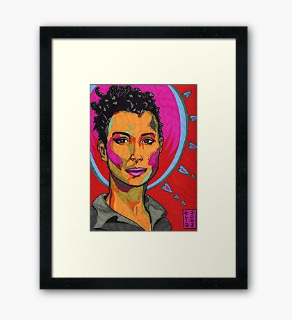 The Strength of Mariane Pearl Framed Print