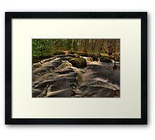 Across The Falls Framed Print