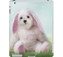 Snowdrop the Maltese - Dressing Up for Easter ! iPad Case/Skin