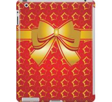 Golden bow iPad Case/Skin