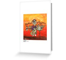 OUTBACK JAZZ Greeting Card