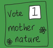 mother nature Kids Tee