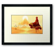 Journey - A Friend Framed Print
