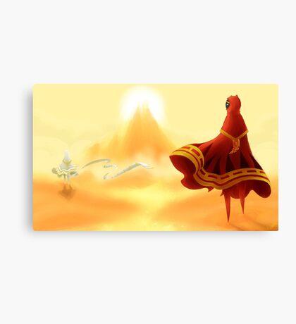 Journey - A Friend Canvas Print