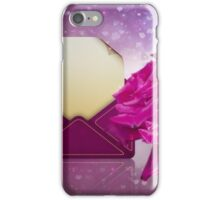 Roses and Letter iPhone Case/Skin