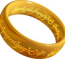 The One Ring  by rohirrimranger