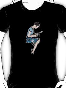 Camera Girl (white outline) T-Shirt