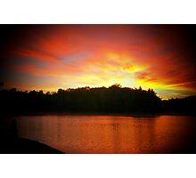 Wanaki Sunset Photographic Print