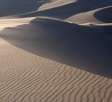 Great Sand Dunes of Southern Colorado by Paul Gana