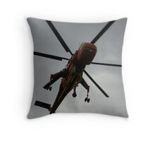 Elvis Above Throw Pillow