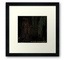 Fear and Loathing - Fond Memories of Vegas through Closed Eyes Part 01 Framed Print