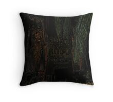 Fear and Loathing - Fond Memories of Vegas through Closed Eyes Part 01 Throw Pillow