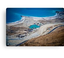 Israel, Dead Sea landscape view Canvas Print