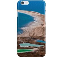 Israel, Dead Sea landscape view iPhone Case/Skin