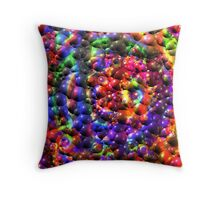 Visual Psychedelia Series 01 Throw Pillow