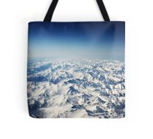 Snow Mountains Tote Bag