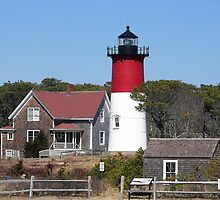 Nauset Light Cape Cod by buddykfa