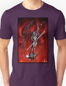 Robot Angel Painting 007 T-Shirt