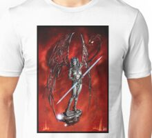 Robot Angel Painting 007 Unisex T-Shirt