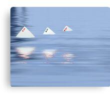 Card Sharks Canvas Print