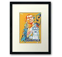 The Durantula Framed Print
