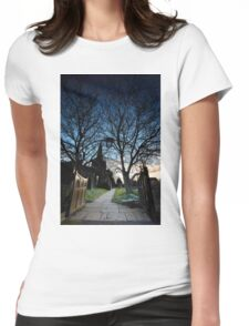 The Gate Into The Night Womens Fitted T-Shirt