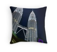 Suria KLCC Throw Pillow