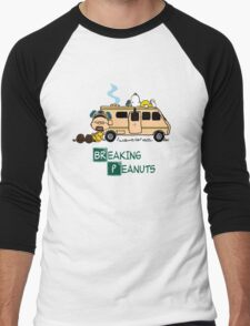 Breaking Peanuts Men's Baseball ¾ T-Shirt