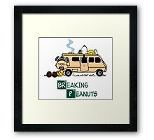 Breaking Peanuts Framed Print