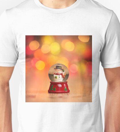 The Happy Snowman Unisex T-Shirt