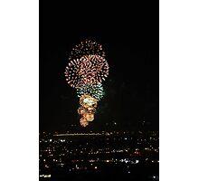 Australia Day Fireworks 2008  Photographic Print
